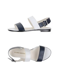 Mauro Grifoni Footwear Sandals Women Dark Blue