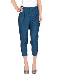 Alysi Trousers Casual Trousers Women Azure