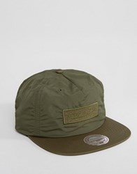 Mitchell And Ness Snapback Cap Slick Green