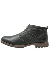 Tom Tailor Casual Laceups Black