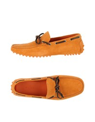 Etro Footwear Moccasins Men Orange