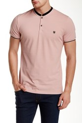 The Kooples Solid Polo Pink