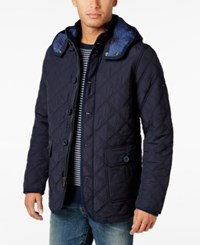 Tommy Hilfiger Men's Guberman Quilted Jacket Midnight
