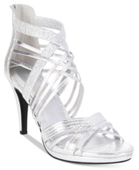Impo Suki Dress Sandals Women's Shoes Silver Multi
