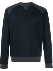 Antonio Marras Pinstripe Sweater Blue