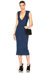 Ag Adriano Goldschmied Pi Dress In Blue