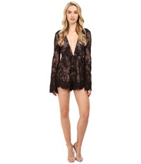 The Jetset Diaries Dulce Romper Black Women's Jumpsuit And Rompers One Piece