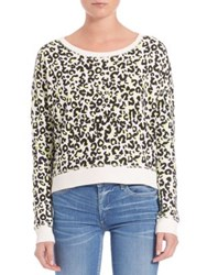 True Religion Cheetah Print Pullover