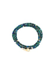 Nialaya Jewelry Beaded Wrap Around Bracelet Blue