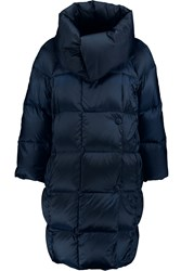 Add Quilted Shell Coat Blue