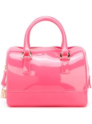 Furla 'Candy' Tote Pink And Purple
