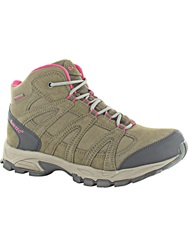 Hi Tec Alto Waterproof Walking Boots Beige