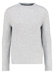 Banana Republic Jumper Urban Grey Mottled Grey
