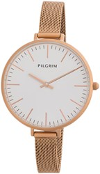 Pilgrim Rose Gold Plated Watch Metallic
