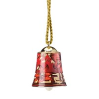 Versace Christmas Blooms Bell Decoration