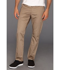 Rvca The Week End Pant Dark Khaki Men's Casual Pants