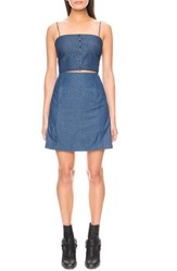 The Fifth Label Women's 'Let's Dance' Chambray A Line Skirt