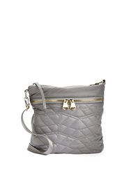 Dolce Vita Quilted Crossbody Bag Grey