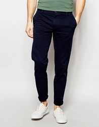 United Colors Of Benetton Slim Fit Chinos Navy Blue