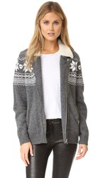 The Kooples Boyfriend Cardigan Grey