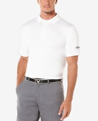 Callaway Men's Big And Tall Optidri Golf Polo Bright White