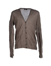 Antony Morato Knitwear Cardigans Men Dove Grey