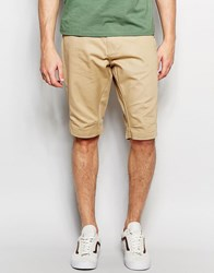 Jack And Jones Jack And Jones Anti Fit Chino Shorts Camel Beige