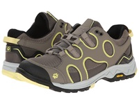 Jack Wolfskin Crosswind Low Lemonade Women's Shoes Yellow
