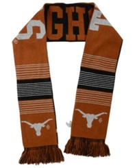 Forever Collectibles Texas Longhorns Reversible Split Logo Scarf