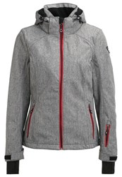 Killtec Neda Ski Jacket Graumelange Mottled Grey
