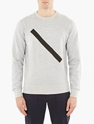 Saturdays Surf Nyc Grey Cotton Bowery Sweatshirt