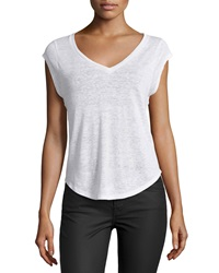 Candc California C And C California V Neck Burnout Muscle Tee White