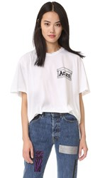 Aries Rat Tee White