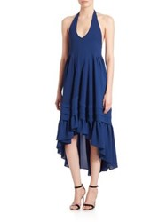 Prose And Poetry Misch Tent Dress Textured Navy