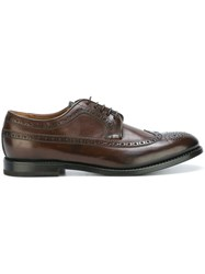 W.Gibbs Classic Brogues Brown