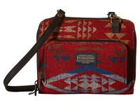 Pendleton Wallet On A Strap Diamond River Red Cross Body Handbags