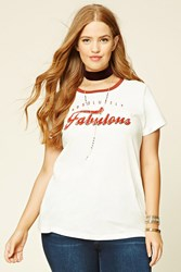 Forever 21 Plus Size Fabulous Graphic Tee