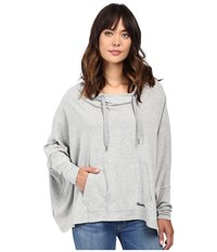 Bench Sharpness Loose Sweatshirt Grey Marl Women's Sweatshirt Gray