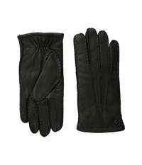 Cole Haan Handsewn Deerskin Glove Black Over Mits Gloves