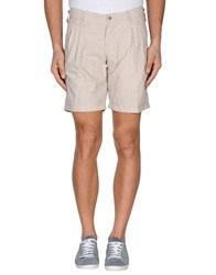 Messagerie Trousers Bermuda Shorts Men Khaki