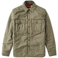 Rag And Bone Point Shirt Jacket Green
