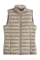 Closed Down Vest Gold