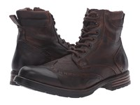 Steve Madden Gastonn Cognac Men's Lace Up Boots Tan