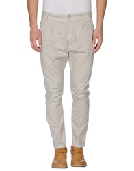 Uncode Trousers Casual Trousers Men Light Grey