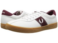 Fred Perry Tennis Shoe 1 Canvas Snow White Snow White Port Men's Shoes