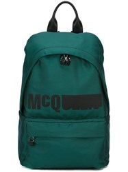 Mcq By Alexander Mcqueen 'Classic' Backpack Green
