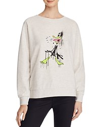 Eleven Paris Daffy Duck Sweatshirt Compare At 98 Light Gray