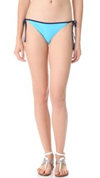 Rag And Bone Cannes Bikini Bottoms Blue
