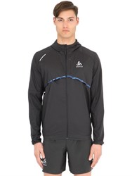 Odlo Windproof Stretch Nylon Running Jacket