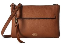 Vince Camuto Gally Crossbody Brandy Cross Body Handbags Brown